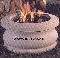 Evening Glow Gas fire pits and fire pit accessories